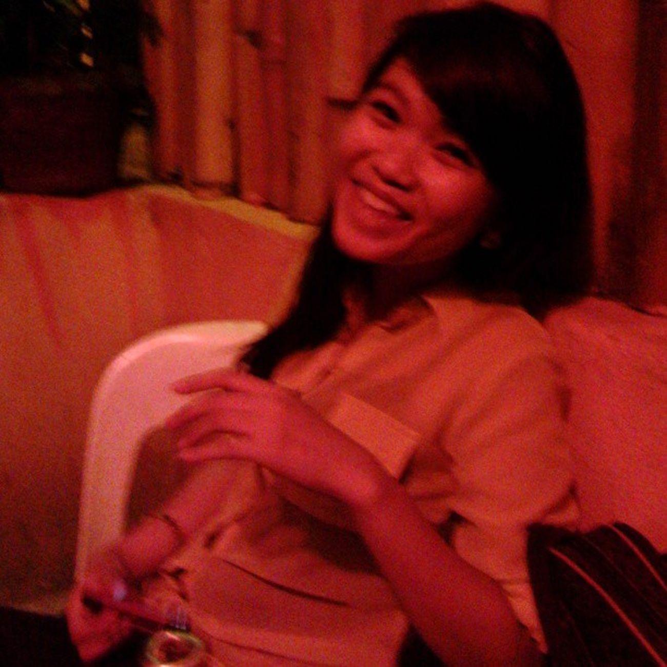 Happy girl. Jestine Indaydota Lalabsnightout Doxhub