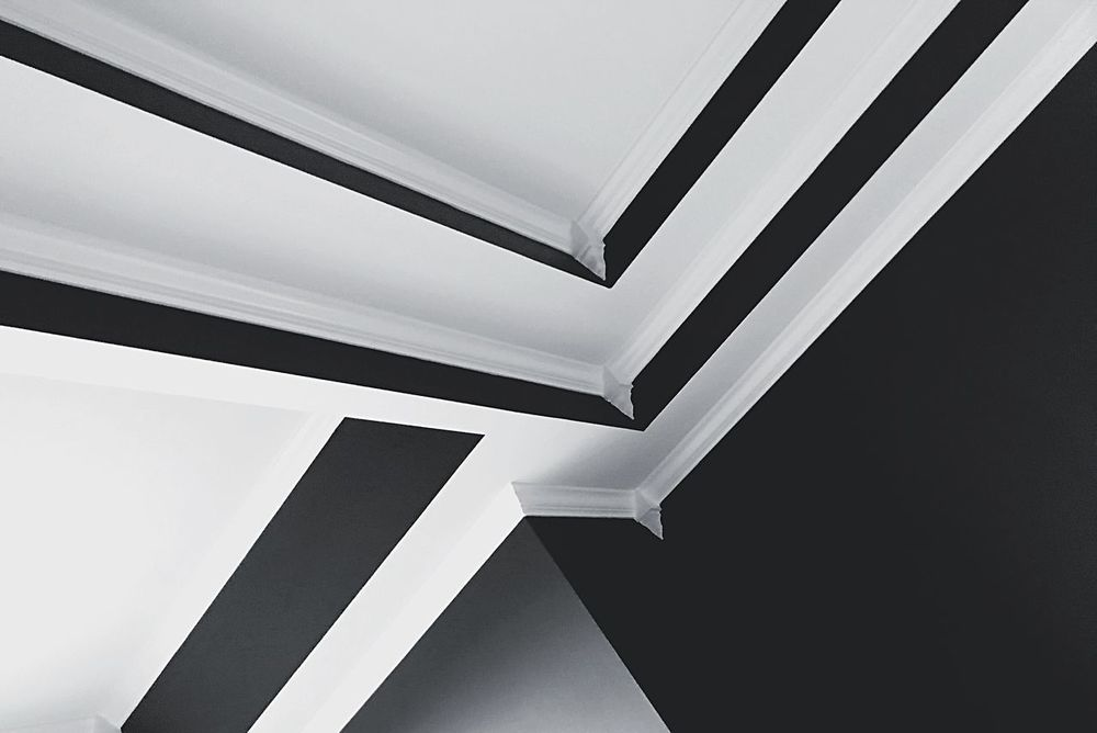 Architecture Low Angle View Indoors  Built Structure No People Pattern Modern Close-up