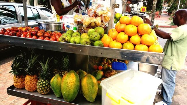 Colorsplash Fruits Amazing View Freshness Healthy Eating PhonePhotography Food Market Stall CALI COLOMBIA