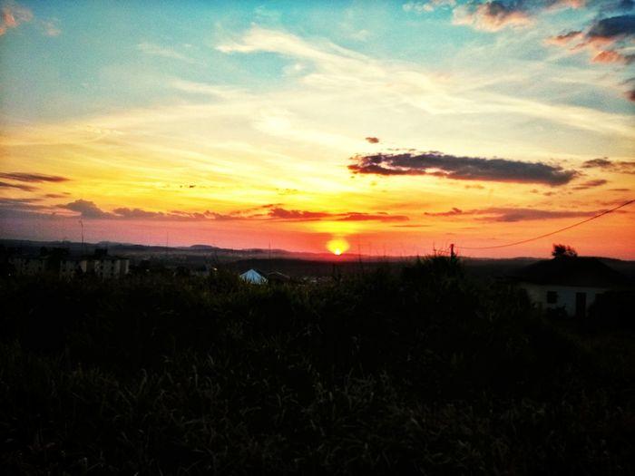 Sunset Cloud - Sky Sun Nature Natureza Pordosol First Eyeem Photo