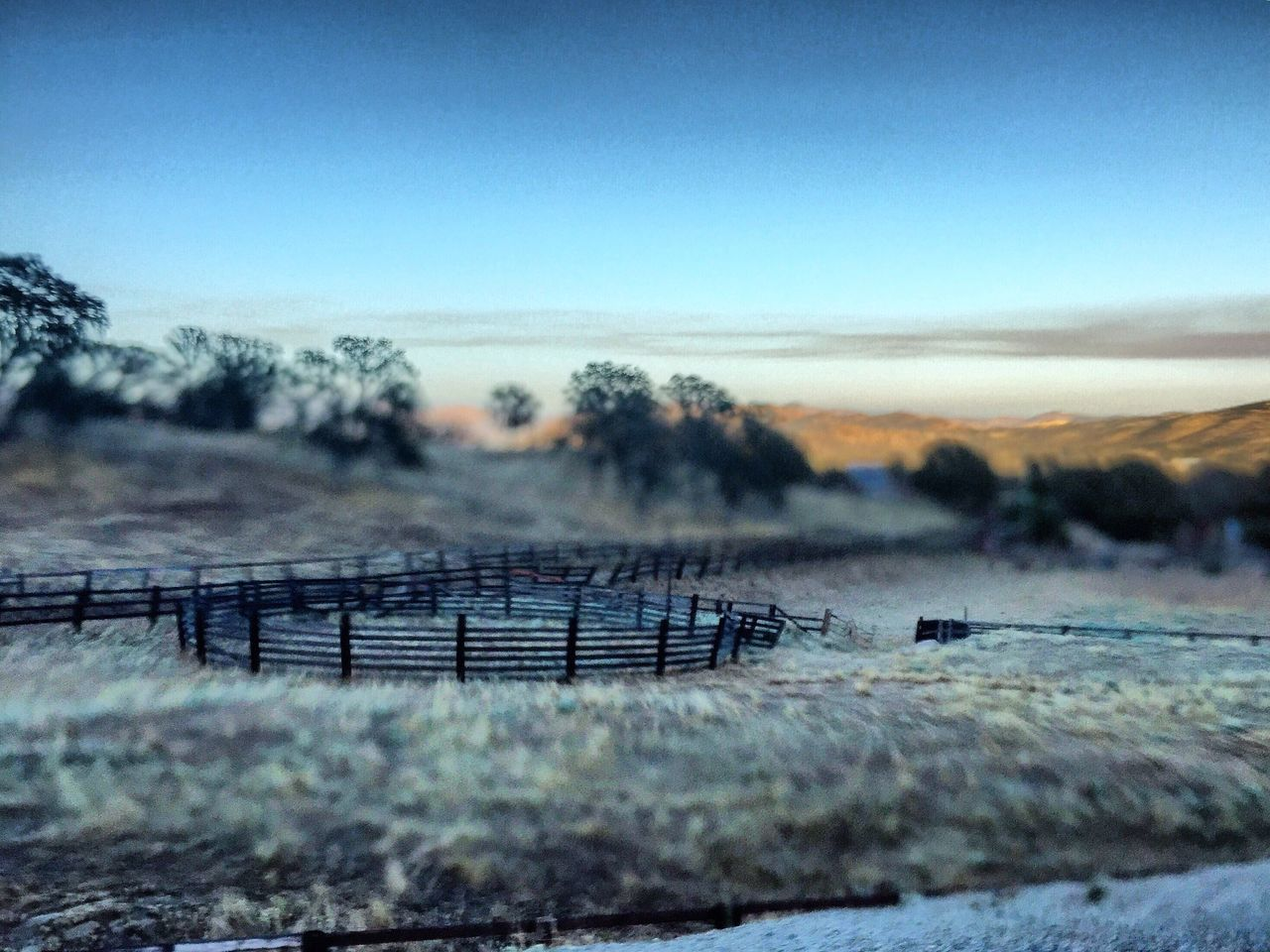 IPhoneography Sierra Nevada Foothills