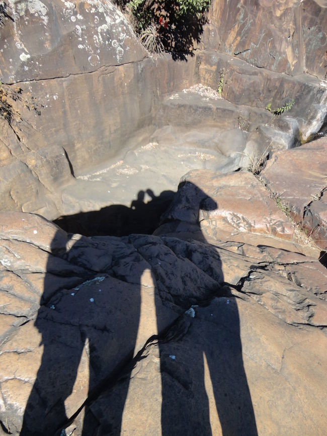 Day Daylight Eroded Outside People Shadow Rock Rock Formation Shadow