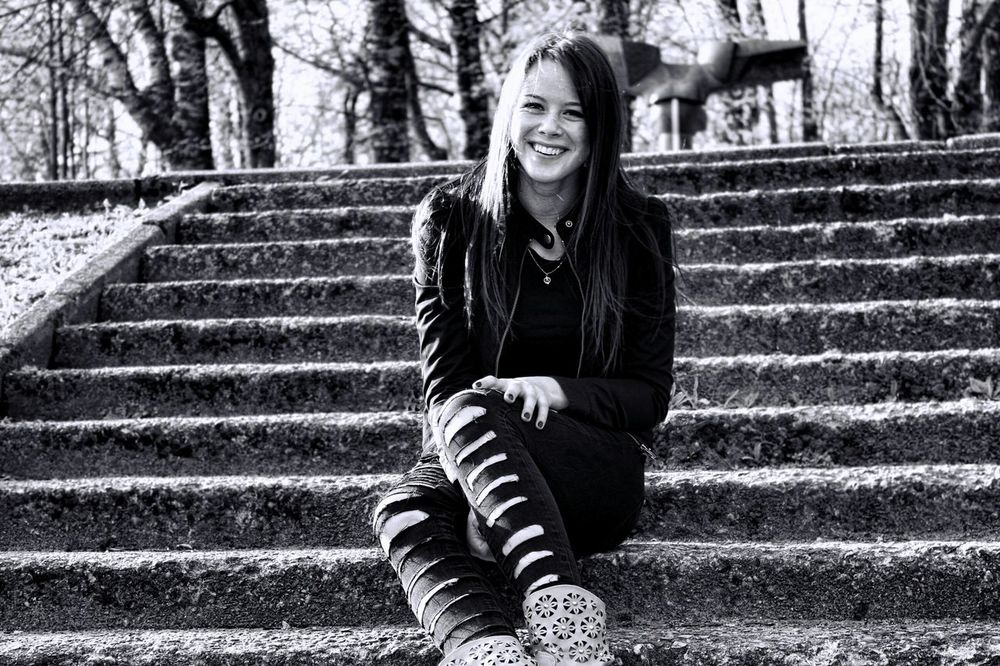 Smile ✌ Happy In Love ♡  EyeEm Best Shots - Black + White