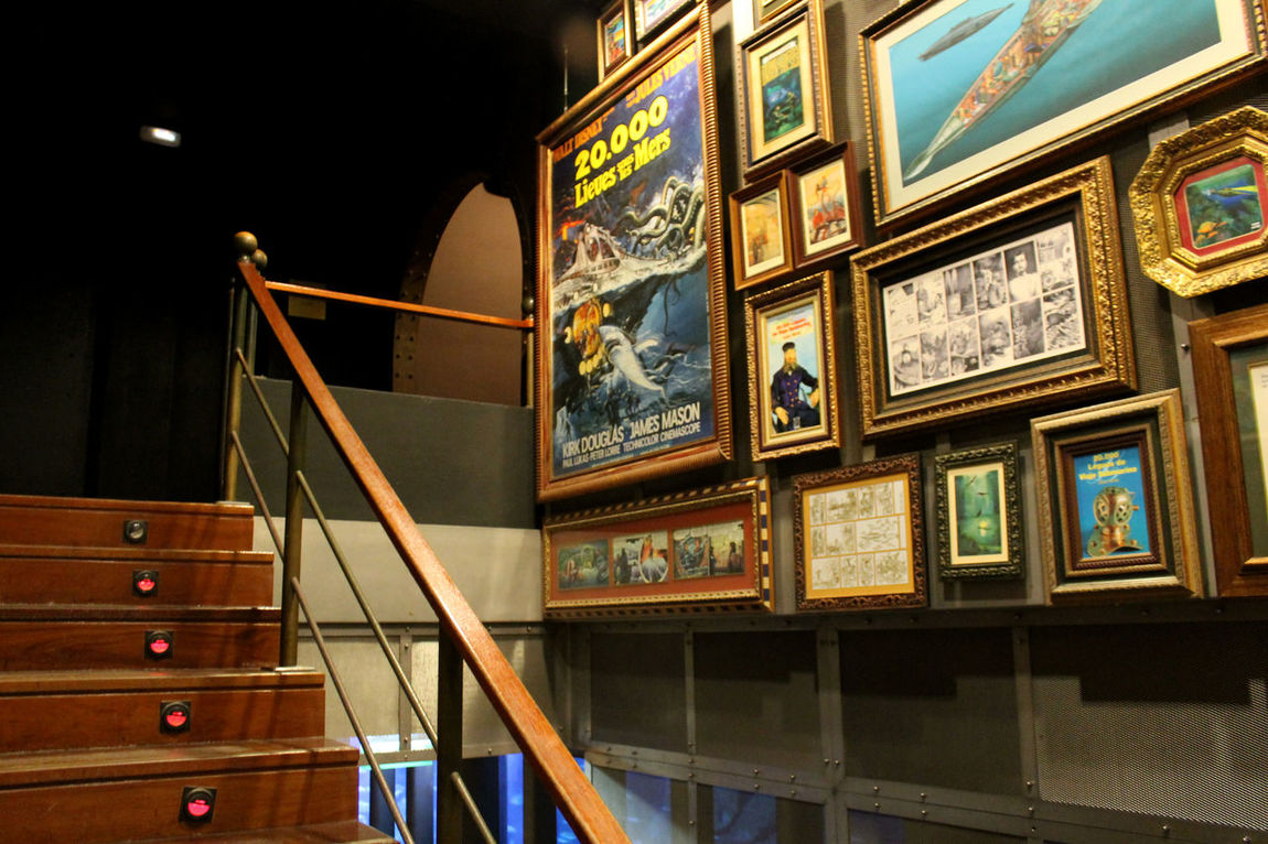 Adventure Club Light And Shadow Pictures Tell A Story Posters Stairs & Shadows Submarine World