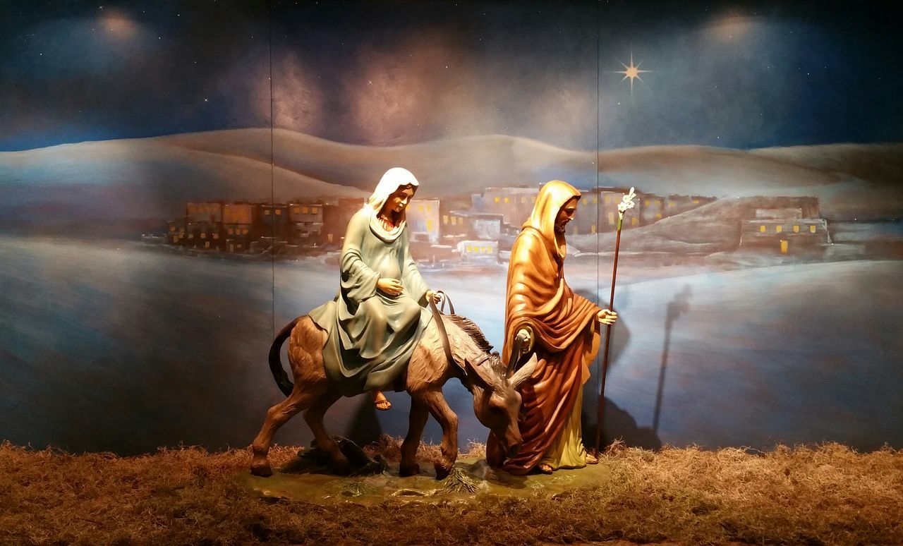 At Sunday morning Mass. Period Costume Colorful Nativity Scene Popular Photos Eyemphotography Illuminated Indoors  Eyemphotos EyeEm Gallery