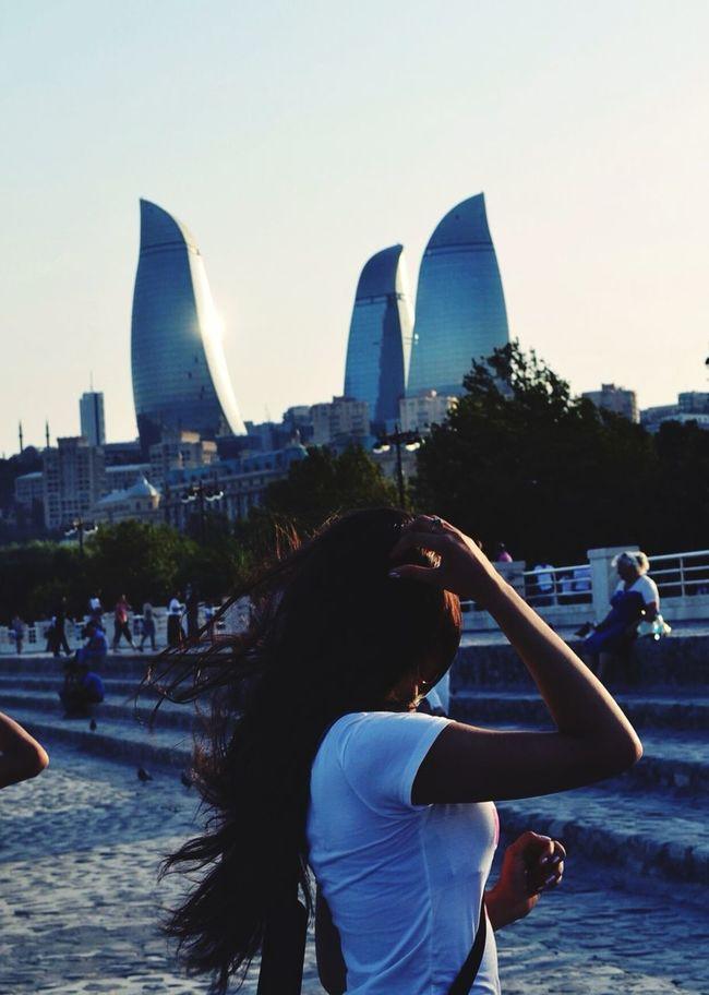 I Love Baku❤️ Hello World Summer ☀