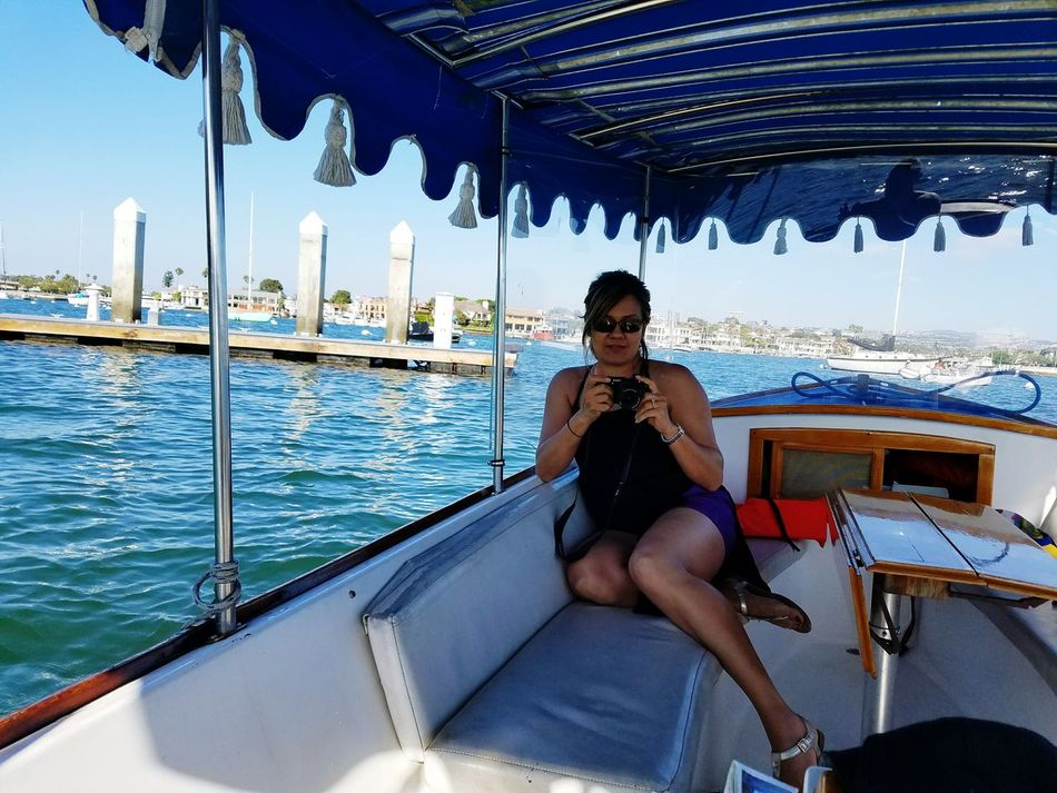Leisure Activity Lifestyles Casual Clothing Weekend Activities Person Front View Looking At Camera Day Water Summer Samsung Galaxy S7 Edge Ocean Tranquility Check This Out No Filter, No Edit, Just Photography Wifey♡ Boat Ride Caught You Cheese The Great Outdoors - 2017 EyeEm Awards