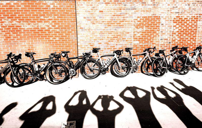 Shadow Outdoors People Cyliing Club Day Cycling Bikeride Bike Bikes Bike Life Group Of People Group Ride Bike Riding Selfies Group Selfie