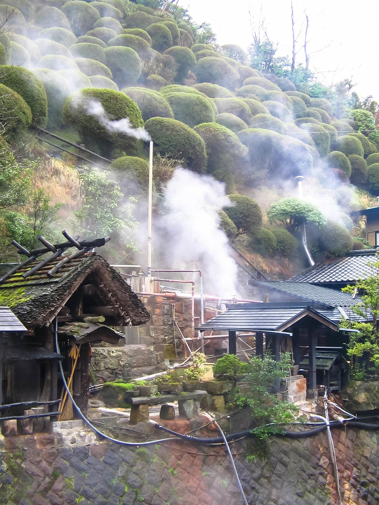 Building Exterior Built Structure Japan Onzen