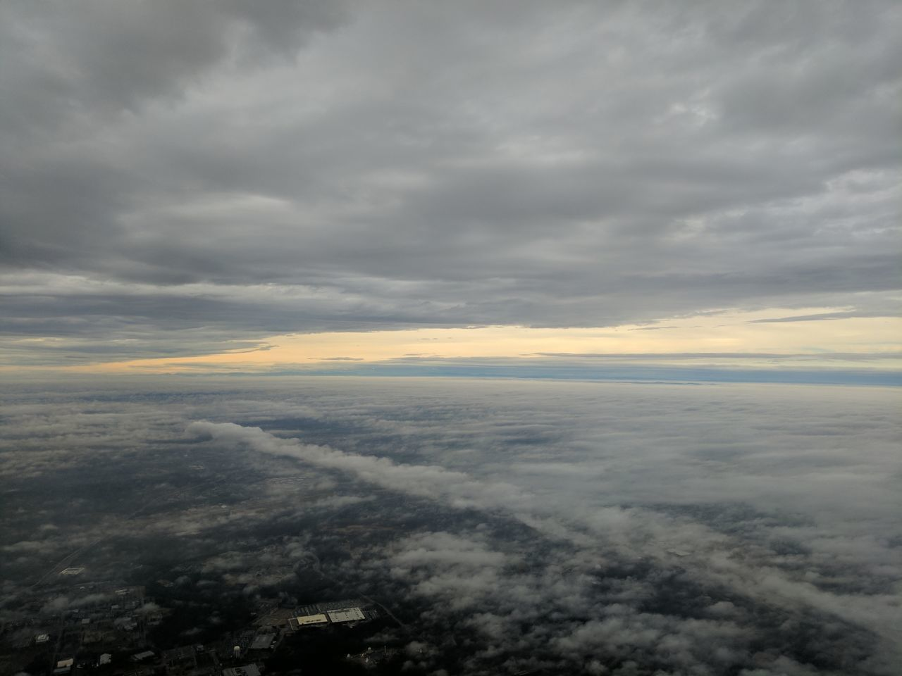 cloud - sky, nature, tranquility, beauty in nature, scenics, tranquil scene, sky, cloudscape, atmospheric mood, majestic, no people, outdoors, aerial view, sunset, backgrounds, day
