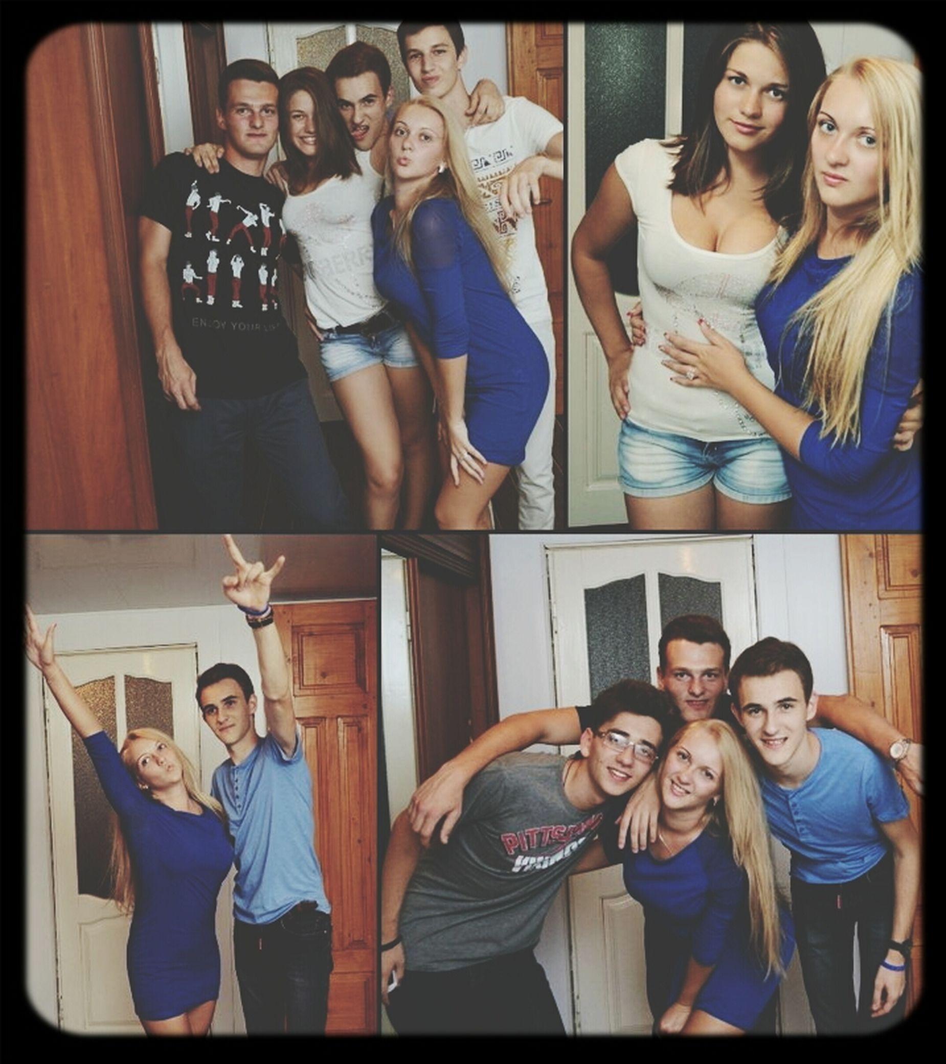 отдыхаем с друзьями полным ходом)