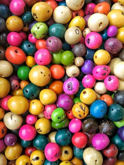 Multi Colored Variation Backgrounds Large Group Of Objects Tagua  Seeds Colors EyeEmNewHere