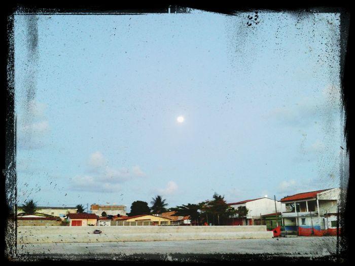 O nacer da lua.... First Eyeem Photo
