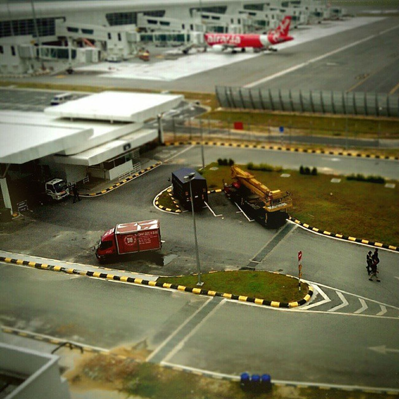 """KLIA2 Prop"" miniature. Afterlight AwesomeMiniature Toys"