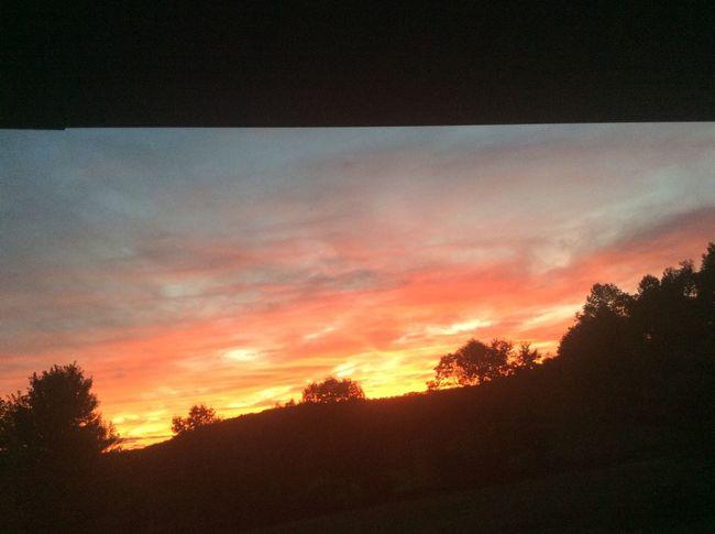 Sunset Nature Sky Landscape Outdoors Brandonville, PA