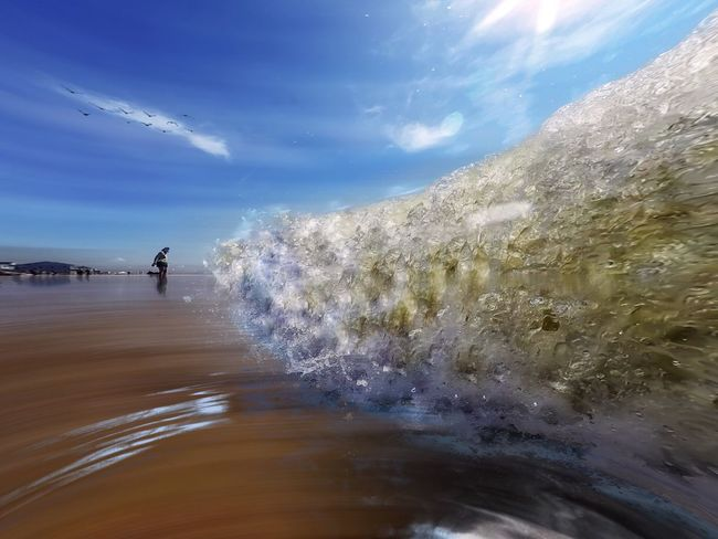 Misquamicut Beach Rhode Island Shot on GoPro Hero 4, Edited on iPhone 6plus www.eSantosStudios.com 25-Sept-2015. Being A Beach Bum Sunshine Sandcastles Getting A Tan Swimming Enjoying The Sun Beach Waves Wave Waves Crashing Surf's Up Surf's Up🌊 Surf's Up! Surfs Up The Essence Of Summer