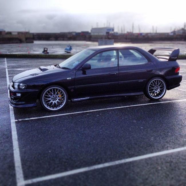 Alone in the car park... #subaru #sti #penzance #cornwall #car #black #improvedimage #impreza Car Black Subaru Cornwall Penzance  STI Impreza Improvedimage
