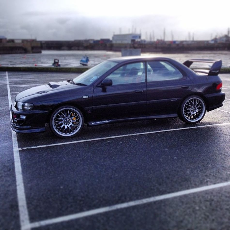 Alone in the car park... #subaru #sti #penzance #cornwall #car #black #improvedimage #impreza Car Black Subaru Cornwall Penzance  STI Impreza Improvedimage