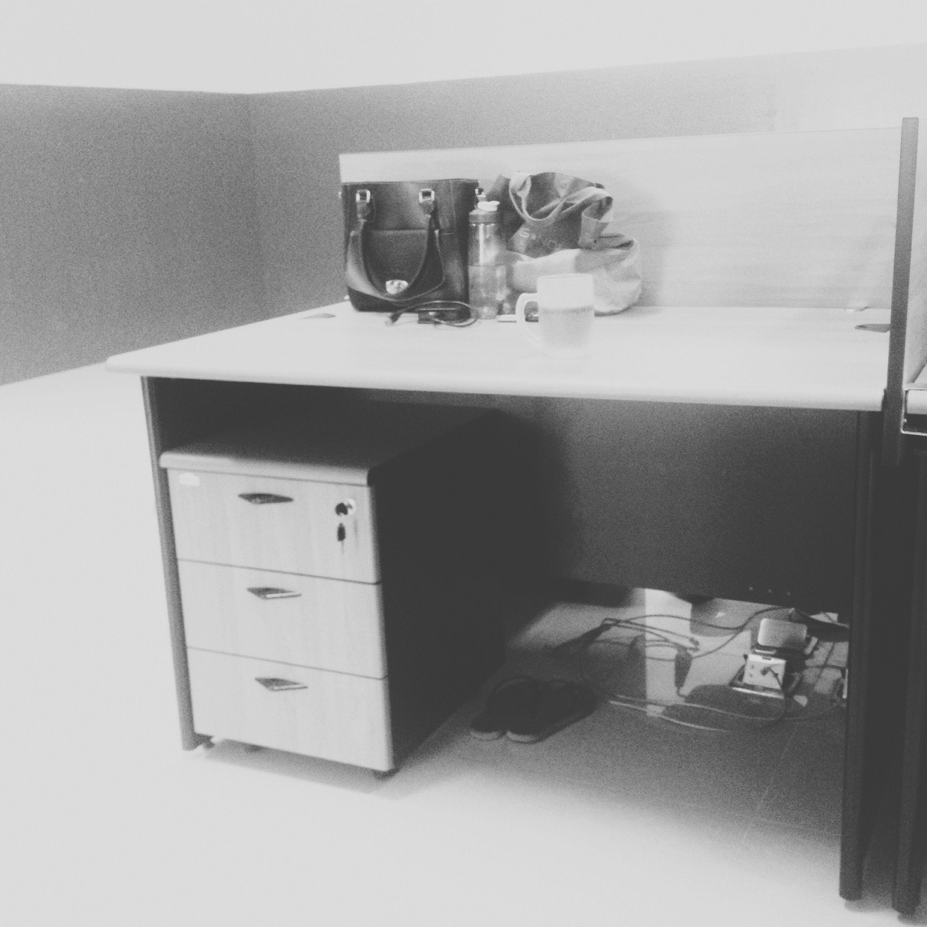 New desk, new job, new hope Black And White Work EyeEm Best Shots EyeEm Indonesia