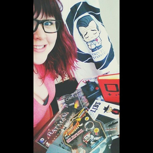 The goodies I got this week in my Arcadeblock and Lootcrate