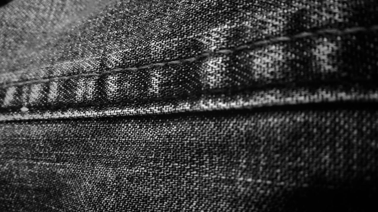 Textured  Full Frame Close-up Jeans Jeans Clothing Fabric Detail Fabric Texture Fabrics Tecidos E Texturas Tecido Black And White Photography Black And White Preto E Branco Black & White Taking Photos EyeEm Best Shots - Black + White Simple Photography Trying New Things Hello World EyeEm Brazil Mobile Photography Taking Pictures
