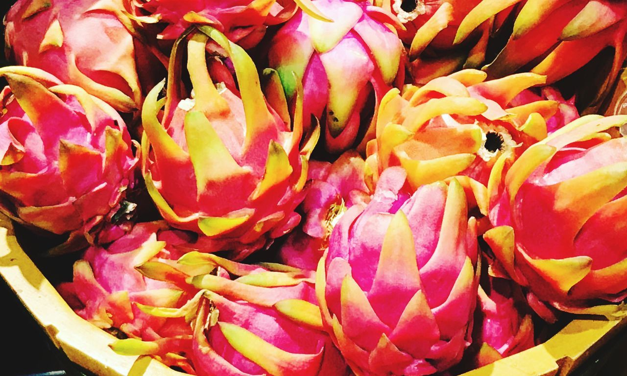 Visual Feast Freshness Pink Color Pitaya Exotic Fruits Peruvianfood Visual Feast Visual Feast