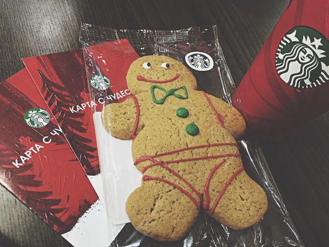 Cafe Latte Christmas Ginger Starbucks