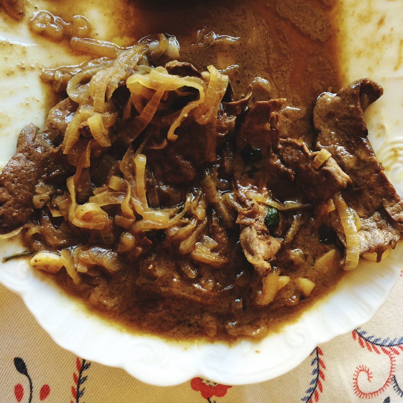 Meal Liver Onions And Liver