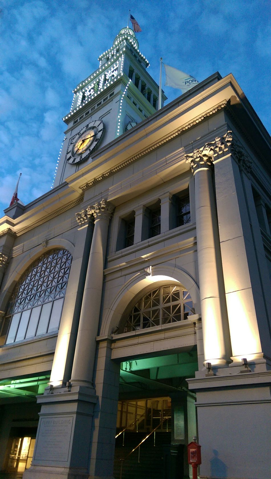 Ferry Building twilight