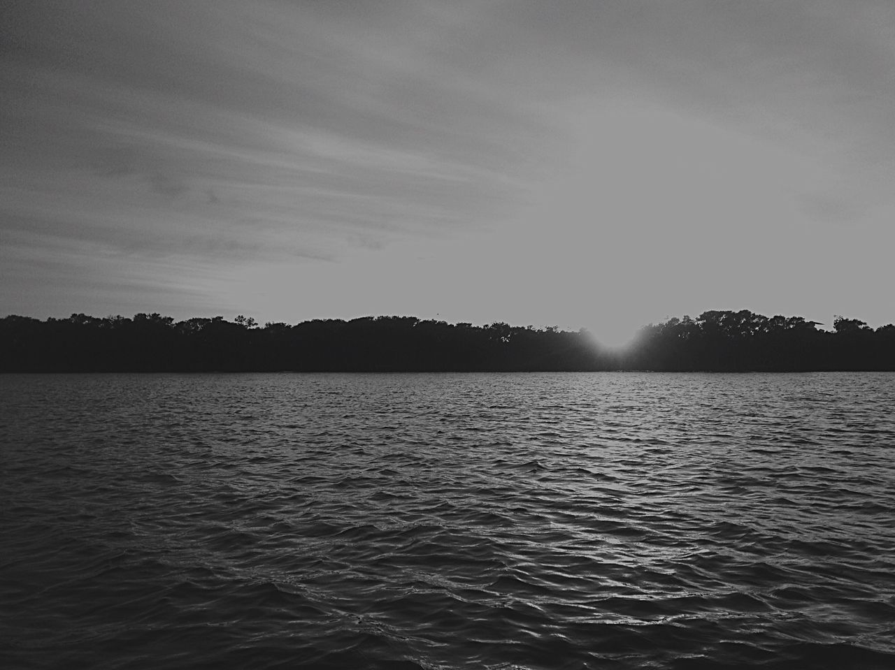 Monochrome Photography Water Tranquil Scene Scenics Tranquility Waterfront Rippled Sun Beauty In Nature Calm Sky Nature Majestic Sea Cloud Sunbeam Outdoors Water Surface Seascape Non-urban Scene No People