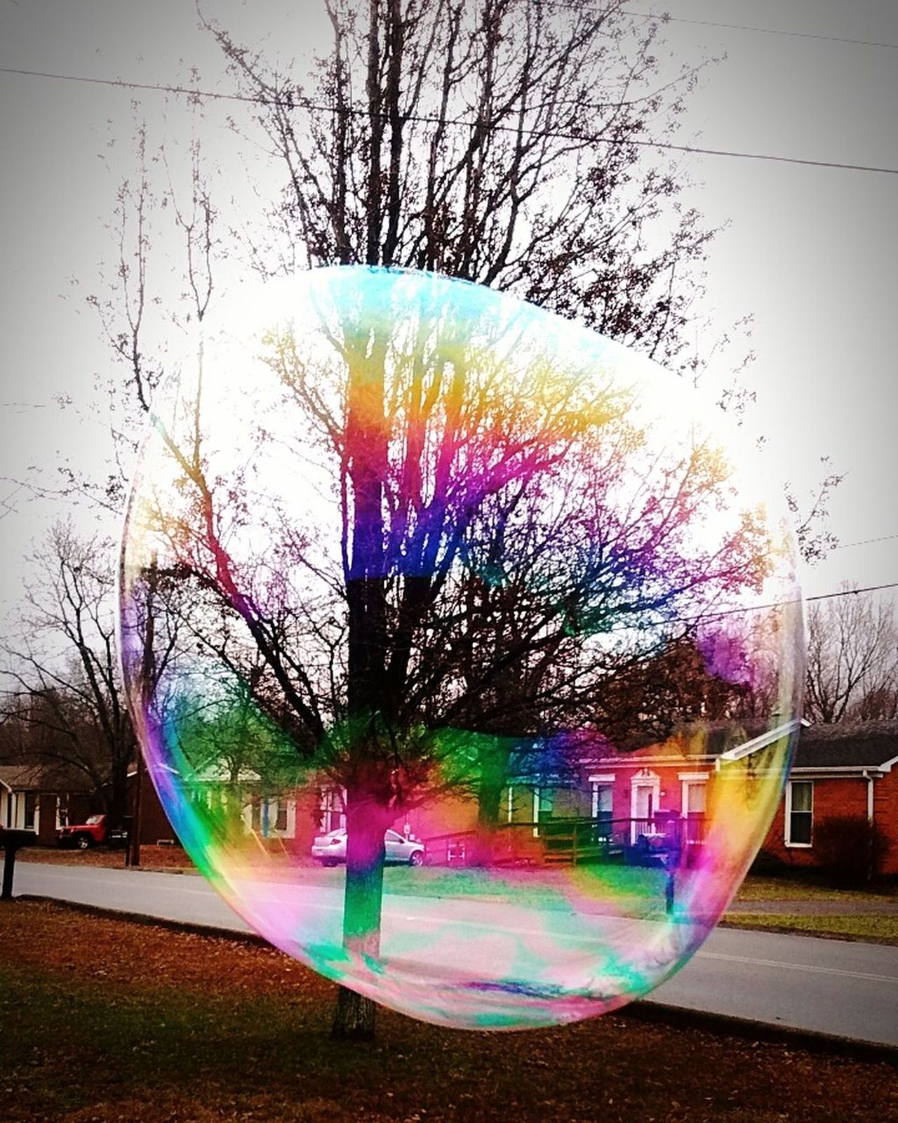 Bubble Colorful Suburbanlife Childhoodmemories Playing Outside