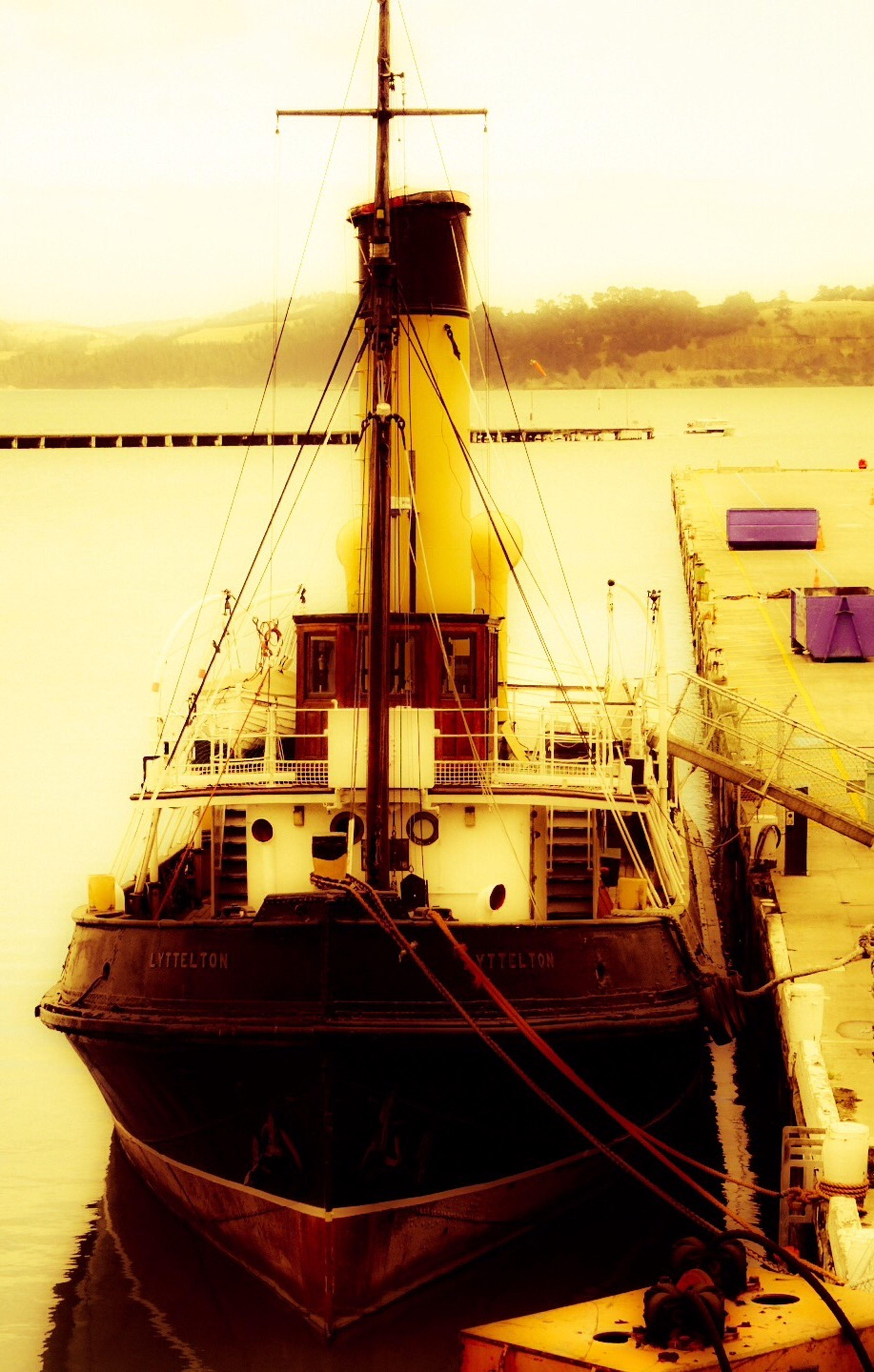 Tugboat Lyttleton Harbour