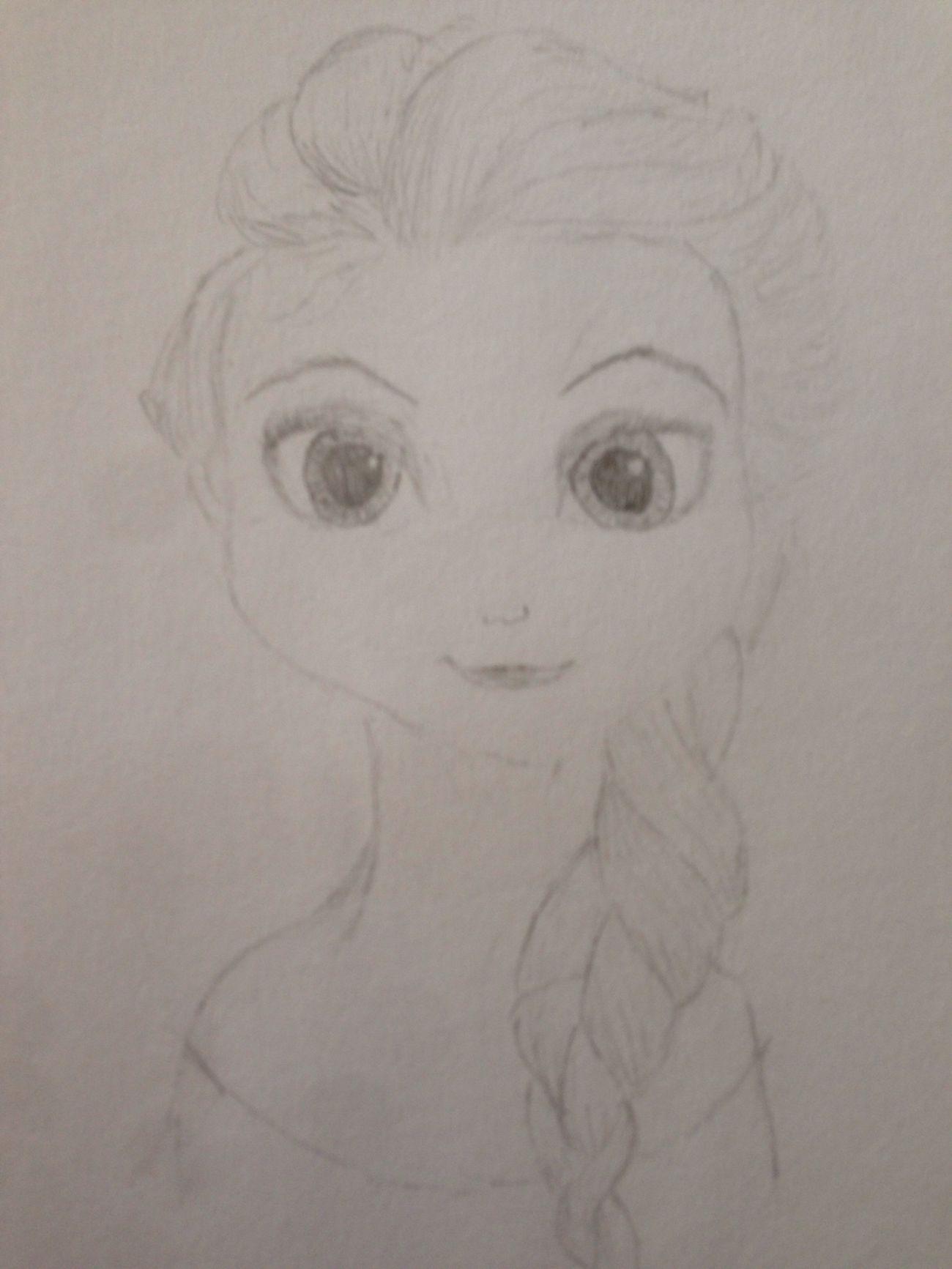 Elsa My Drawing First Eyeem Photo