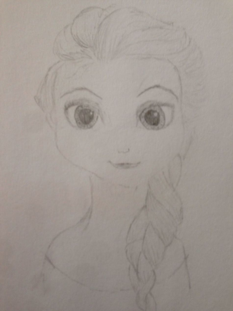 Elsa My Drawing First Eyeem Photo