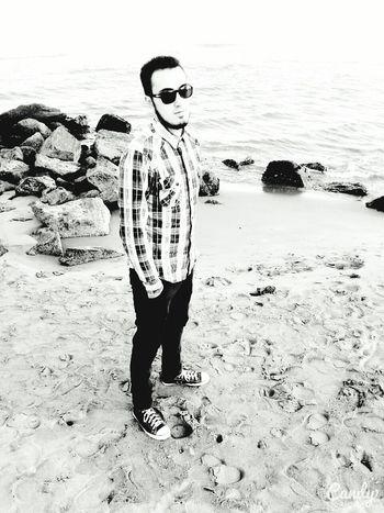 Black & White Fynnymoments  Beach Life