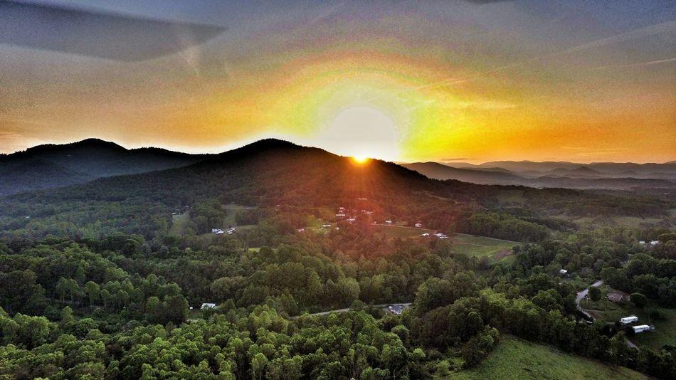 WNC mountains sunset Enjoying Life Wnc WNC - When Nature Calls