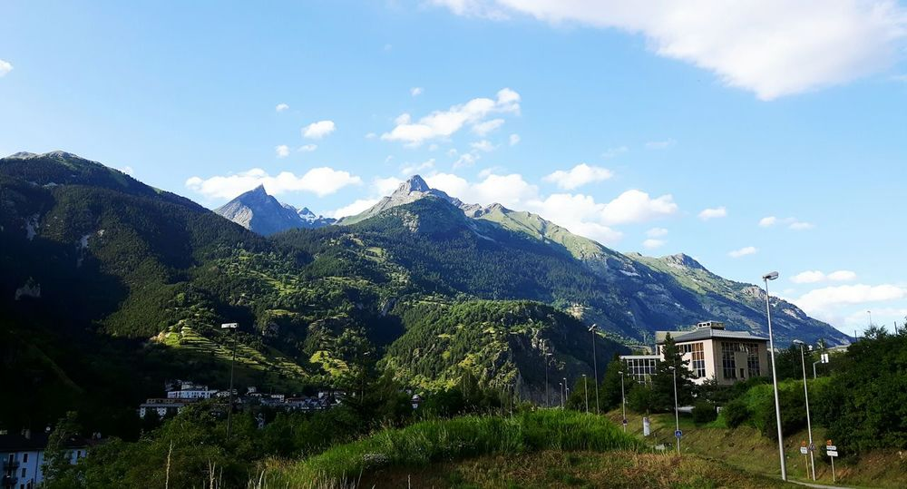 The Alps Mountain View Mountains And Sky Nature_collection Nature Photography Mountain Village Modane - Savoie - France