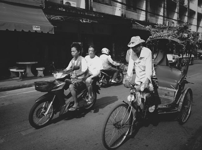 Motorcycle Taxi and Tricycle Bike Taxi Open Edit Documentary Humanride