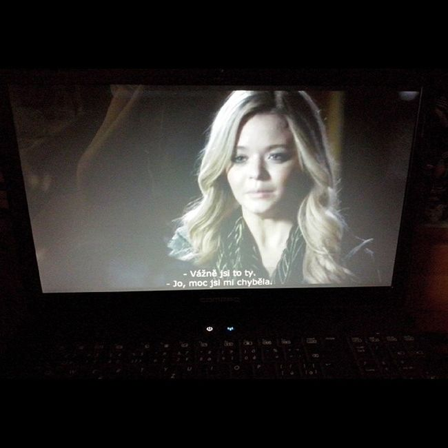 Watching PLL  Alison is back again <3 Newpart