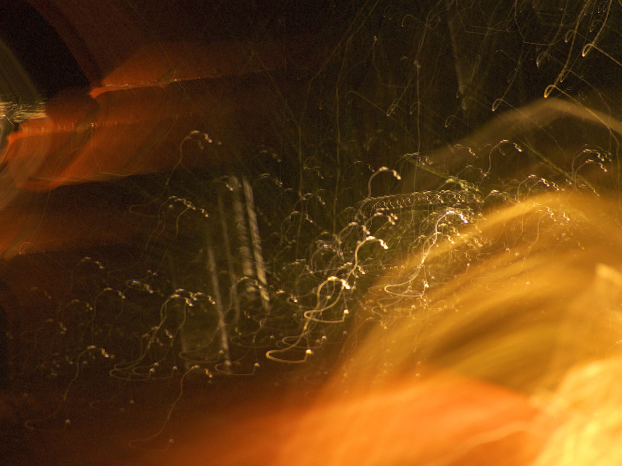 Abstract Abstract Motion Dark Heat - Temperature Low Light Photography Night No People Rain Rain And Light Series Wetness And Electricity