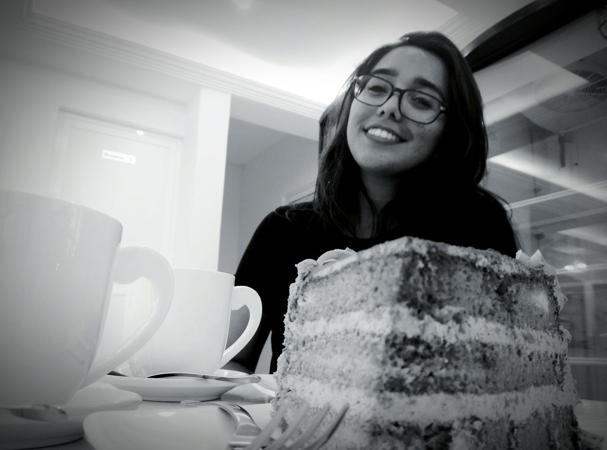 The Best Smile... Taking Photos Relaxing Thebestcompany Enjoying Life Moments Of Life Eat,pray,live Eating Cake Huaweig7 Portrait Photography Portrait Of A Girl Beatiful Girl Beutiful Eyes Black And White Portrait Eyemportrait Onestepatatime Teatime Thebestmodel ILikeYou
