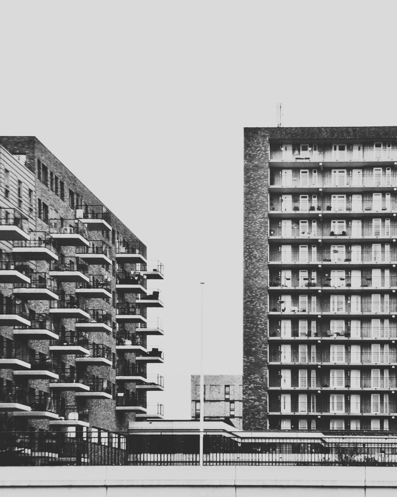 Urban rhythm. Love it! Blackandwhite Walking Around Streetphotography Urban Geometry Urban Landscape Empty Places Balconies Black & White
