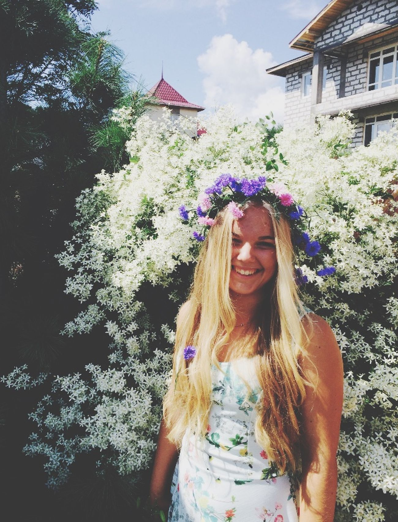 Flowers Flawless❤ Summer Sunny Day Memories Blonde Girl Hello World