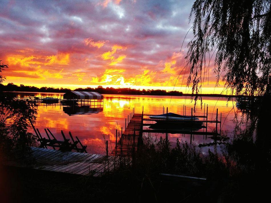 Sunrise Outdoors Morning Nature Boats Lake View good morning Minnesota! Minnesota Minneapolis