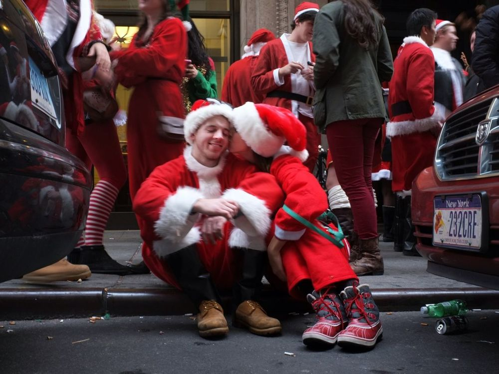santacon in New York City by Alive in NYC
