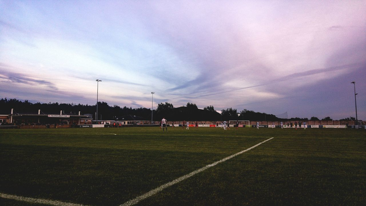 Beautiful sky during the Cirencester Town v Cheltenham Town pre-season friendly. Soccer Football Cirencester Skyporn Gloucestershire Gloucester Cheltenham First Eyeem Photo