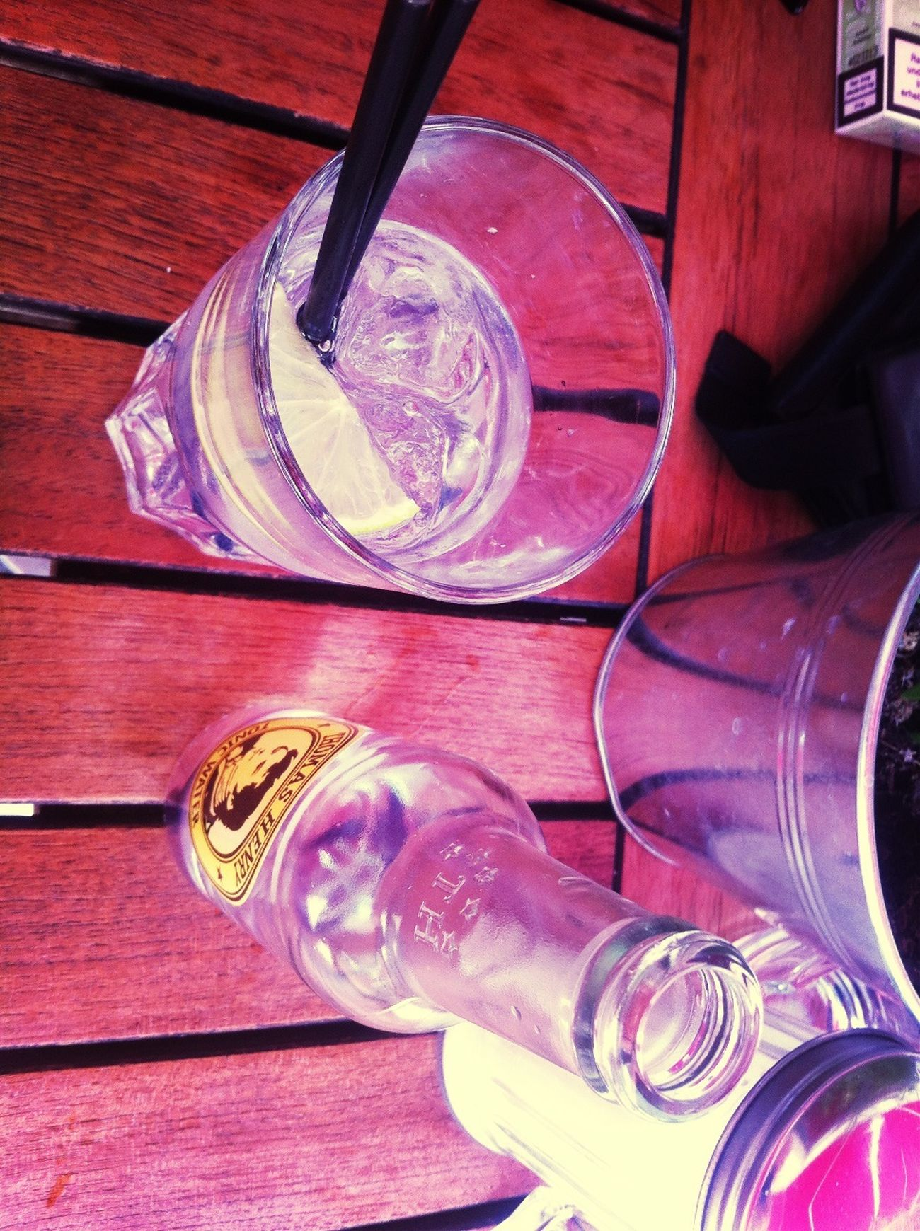 Gintonic Lunch Time! Summer Vibes