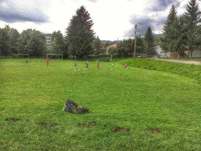 Fussball Training der Jugend deim SV Hasel Soccer Training Fussball Germany