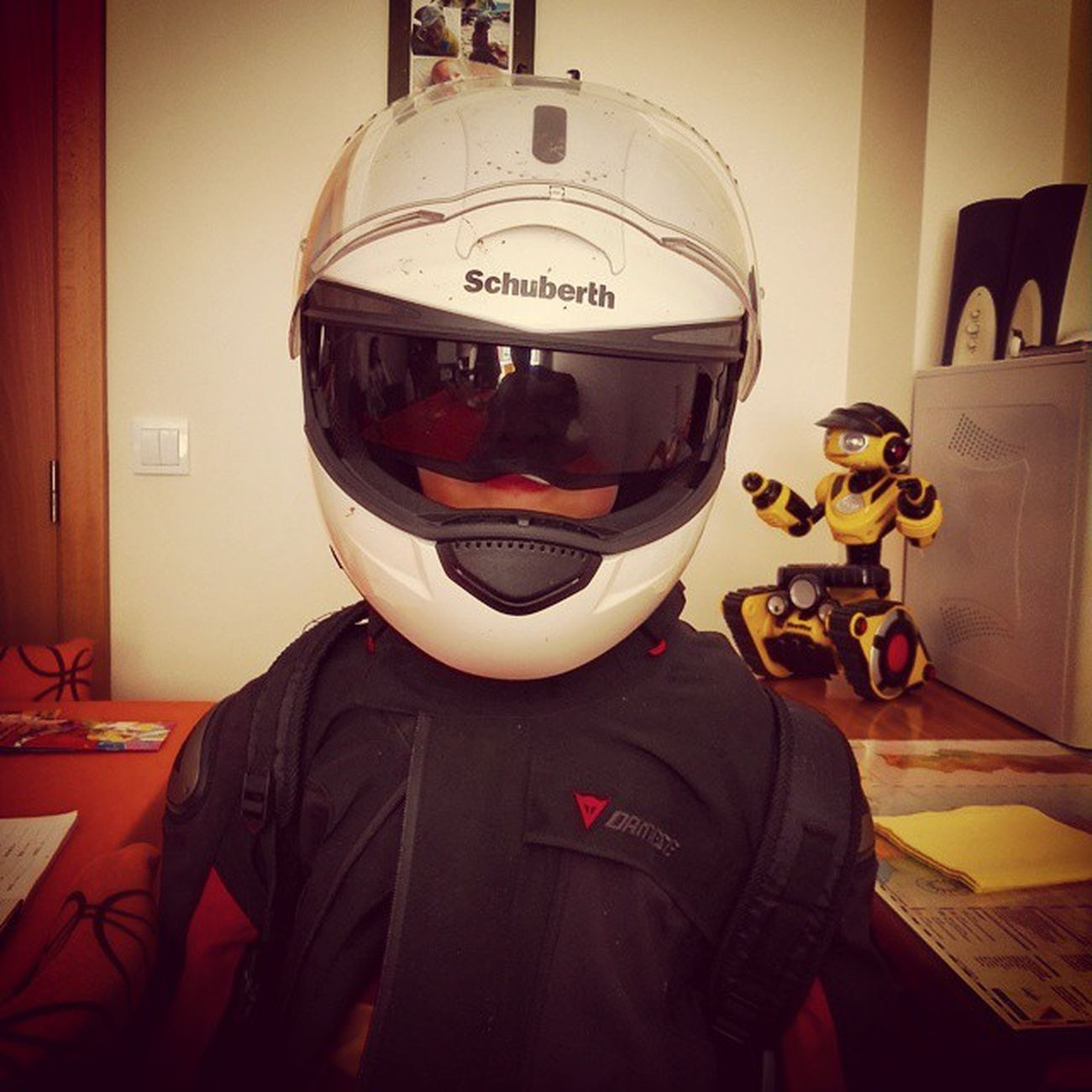 Mykid Schuberth Dainese SalvioRocks