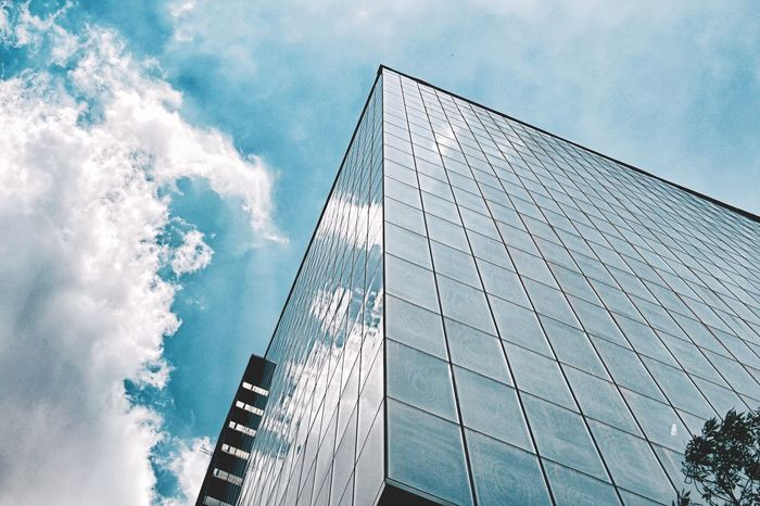 Building in Mexico Mexico City Mexico Building Exterior Architecture Architecture_collection Architectural Detail Building Buildings View From Below Glass Building